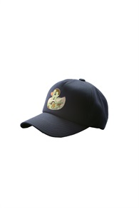 CAP WITH CAMOUFLAGE DUCK[NAVY]