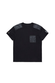 MILITARY PATCH LASER PRINT Tシャツ
