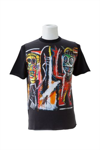 BASQUIAT DUSTHEADS PRINT(F) ROUND NECK SHORT SLEEVE(Estate of Jean-Michel BASQUIAT)