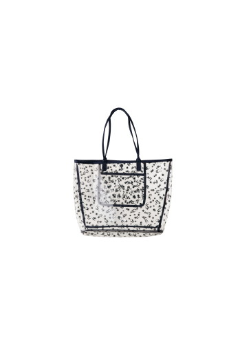 BEACH BAG LARGE SIZE WITH LPF MONOGRAM PRINT