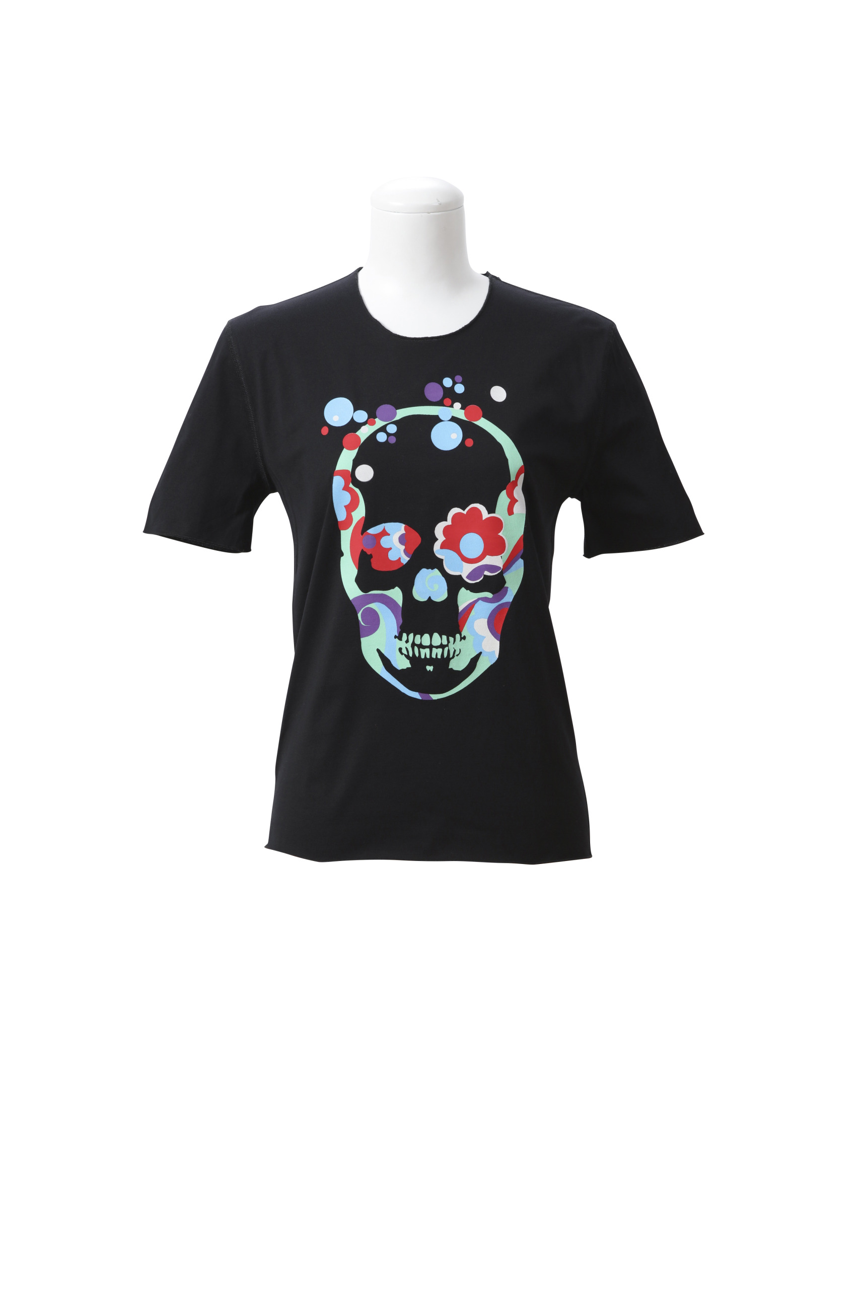 HIPPIE SKULL (F) SHORT SLEEVE T-SHIRT